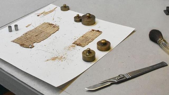 Papiro com dois mil anos descodificado e a temática... é atual