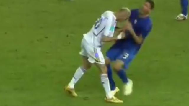 Quem informou o árbitro da cabeçada de Zidane foi... um 'anjo da guarda'!