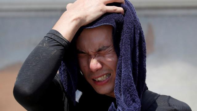 Onda de calor que se faz sentir no Japão já provocou 12 mortos