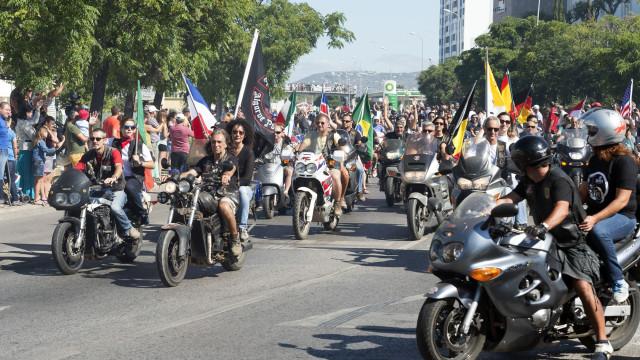 """Concentração de Faro: GNR com """"visibilidade"""" e PSP com a Unidade Especial"""