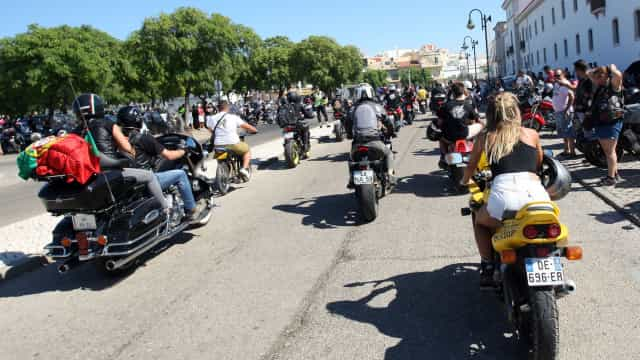 Cerca de 10 mil motociclistas já chegaram à concentração de Faro