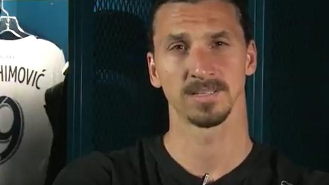 O prometido é devido. Zlatan a caminho de Wembley por causa de Beckham
