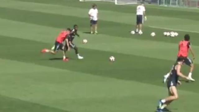 Vinícius Jr. continua a brilhar nos treinos do Real Madrid