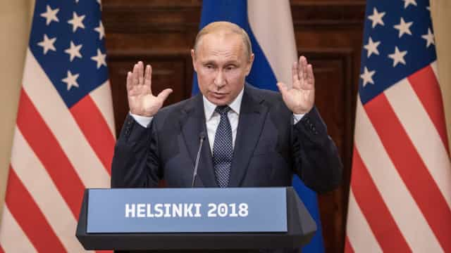 """""""Negociações em andamento"""" para segundo encontro entre Trump e Putin"""