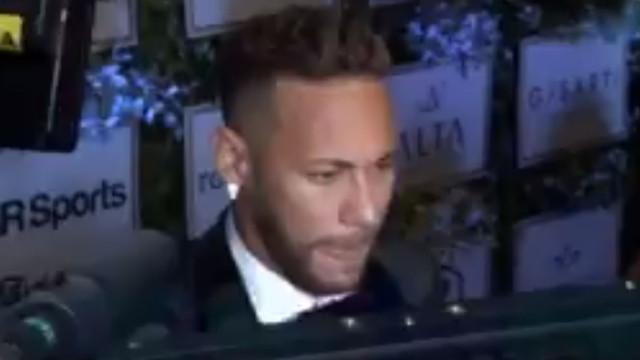 Neymar elogia Cristiano Ronaldo e deseja-lhe sorte... menos contra o PSG