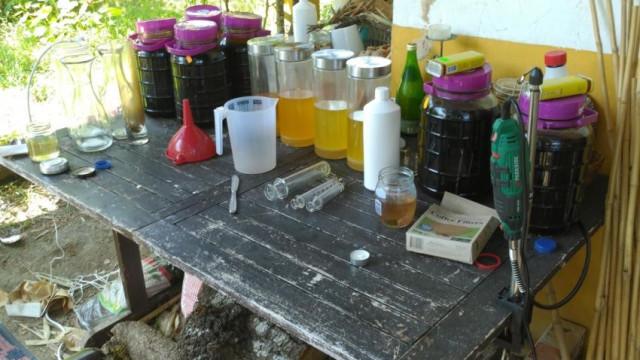 Polícia desmantela unidade de produção artesanal de droga e detém homem