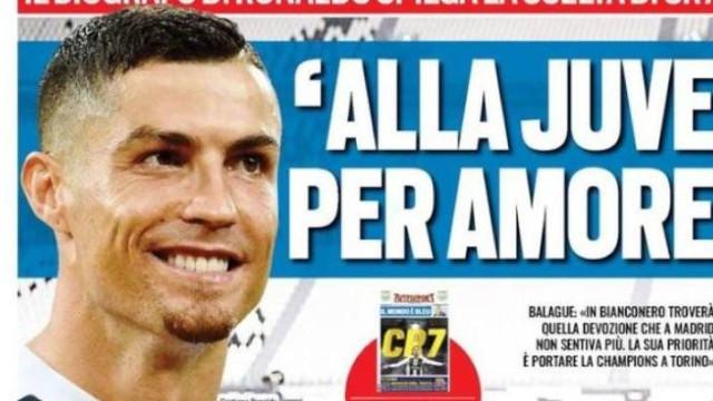 """Imprensa internacional: O """"amor"""" de CR7 e o Real Madrid entre 'Neymars'"""