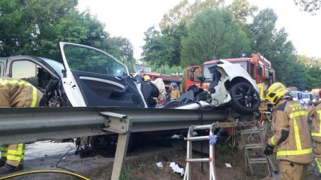 Quatros jovens morrem em acidente em Espanha. Tinham entre 23 e 29 anos