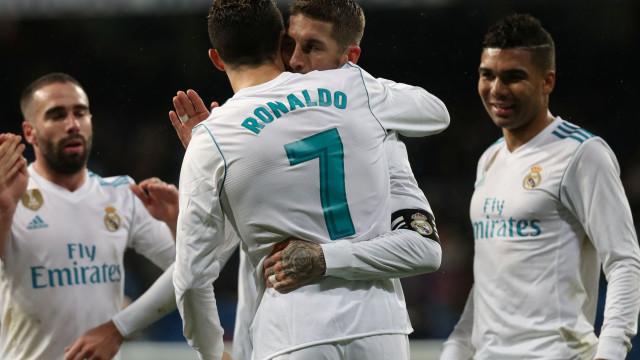 Sergio Ramos revelou quem vai herdar a camisola 7 de Ronaldo