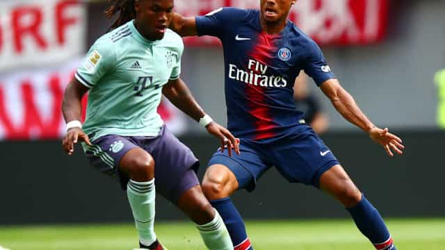 Renato Sanches voltou a ser 'golden boy' no triunfo do Bayern sobre o PSG