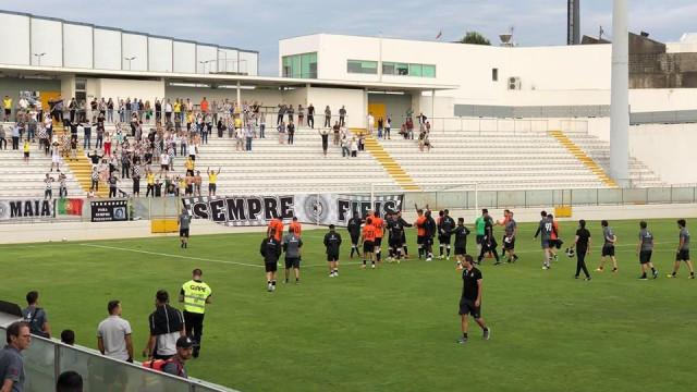 Boavista vence o Moreirense no torneio de Águeda