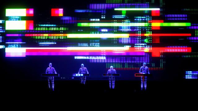 Concerto dos Kraftwerk contou com ajuda vinda do espaço