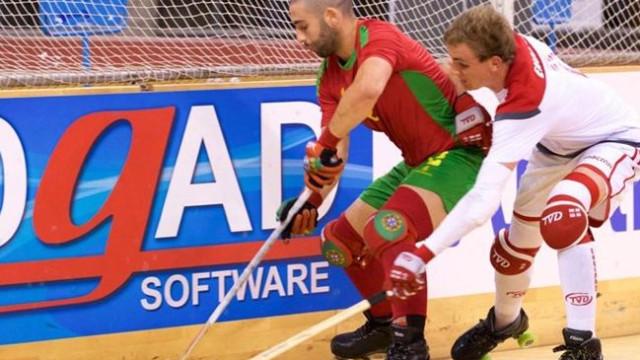 Bravo, Portugal. Seleção Nacional na final do Europeu de hóquei