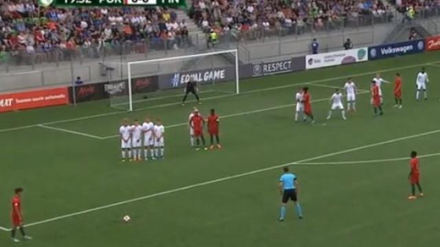 Golo fantástico de Jota colocou Portugal mais perto das meias-finais