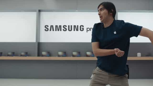 Apple volta a ser motivo de piada em anúncios da Samsung