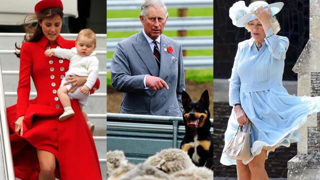 Os momentos mais hilariantes e peculiares da família real britânica