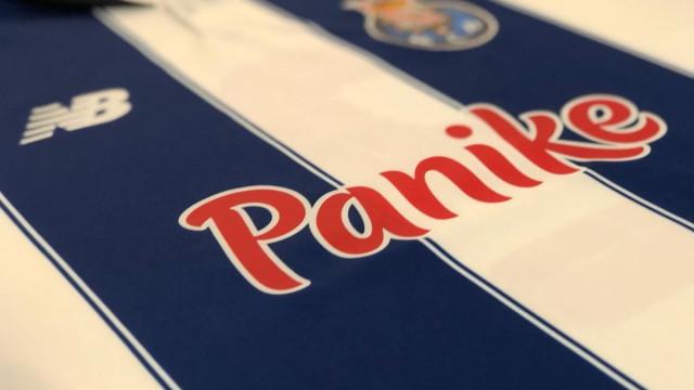 Panike vai patrocinar o FC Porto durante três anos