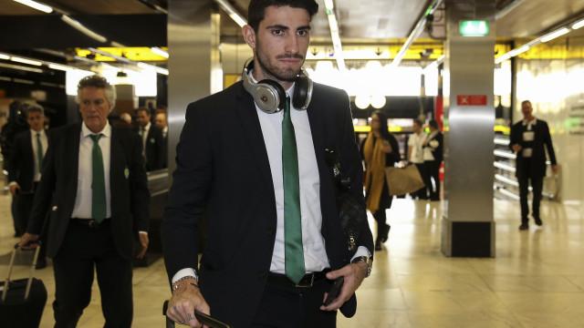 """Piccini despede-se: """"Nunca me passou pela cabeça abandonar o Sporting"""""""
