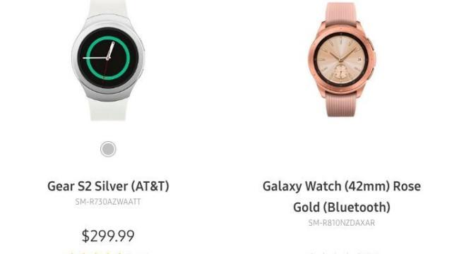Samsung revelou acidentalmente o seu próximo relógio inteligente
