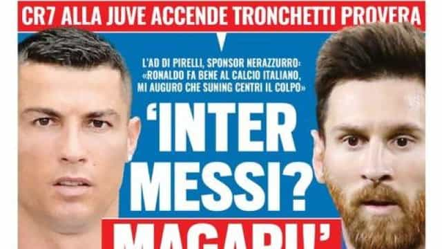 Serie A pode ser palco para reeditar de rivalidade entre Messi e Ronaldo