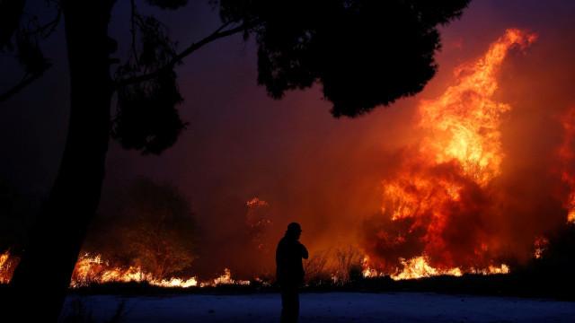 Dia chega ao fim, incêndio não. Mais de 500 bombeiros em Monchique