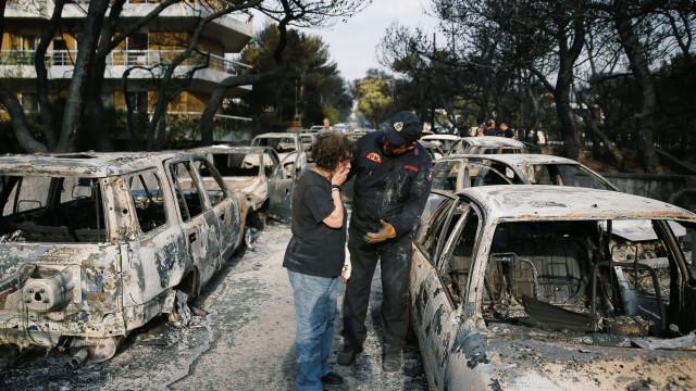 Atriz grega morreu no incêndio que 'devorou' Mati