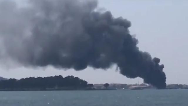 Vários feridos depois de embarcação se incendiar na Galiza