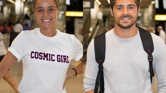 Kelly Bailey e Lourenço Ortigão namoram em Marrocos