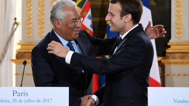 António Costa recebe Emmanuel Macron esta sexta-feira em Lisboa