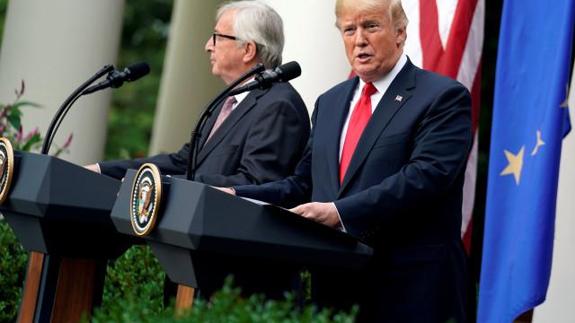 EUA e UE deverão chegar a acordo sobre comércio em novembro
