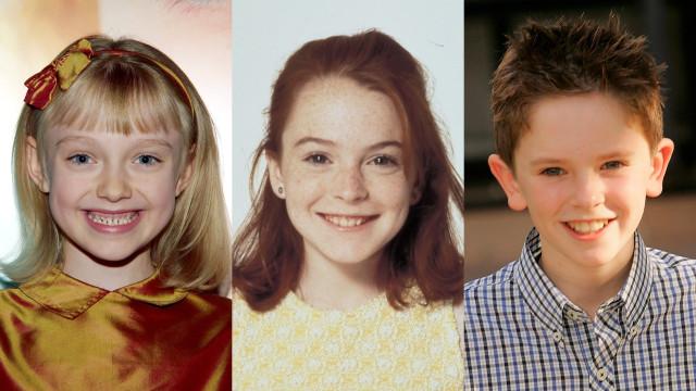 O antes e depois dos atores que começaram a carreira na infância