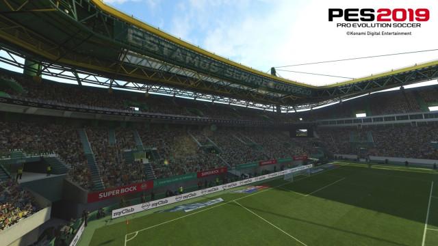 'PES 2019': Veja as primeiras imagens do Estádio José Alvalade