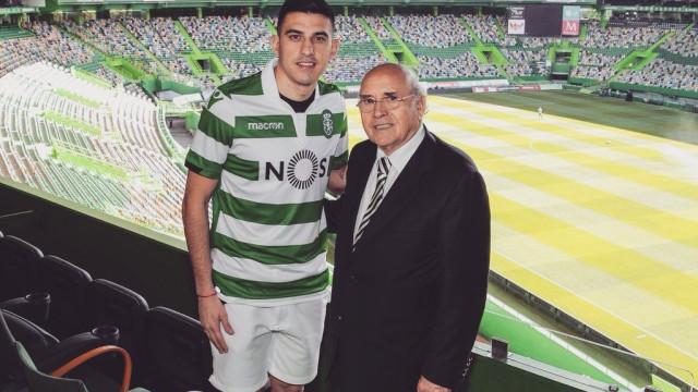 Oficial: Battaglia está de volta ao Sporting