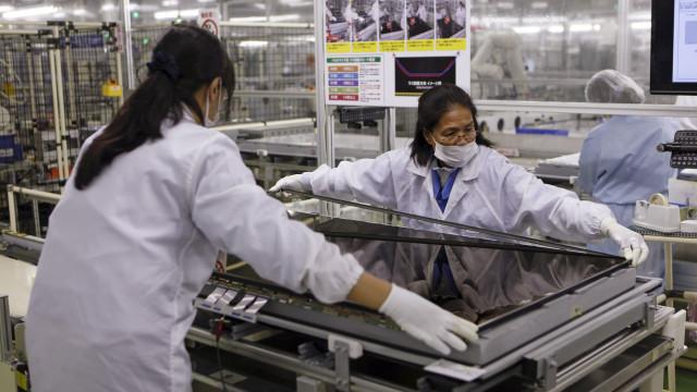 Produção industrial japonesa em queda pelo segundo mês consecutivo