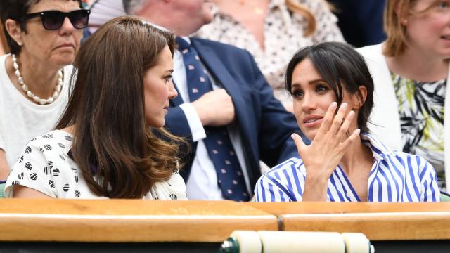Kate Middleton tem sido o grande apoio de Meghan Markle em fase difícil