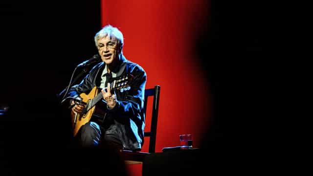 Caetano Veloso levou os três filhos a cantar no Coliseu do Porto