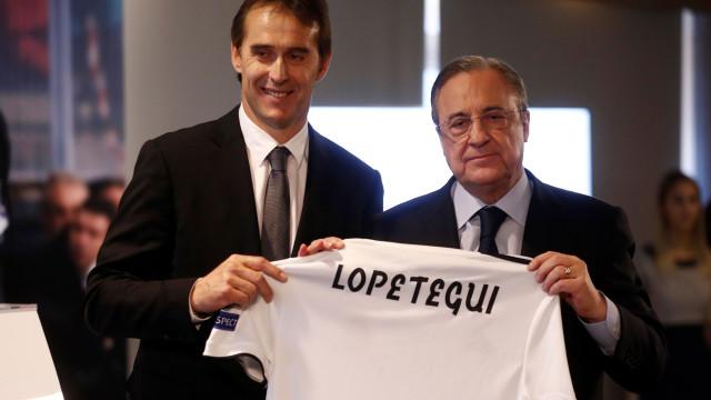Nova derrota motivou reunião de emergência entre Florentino e Lopetegui