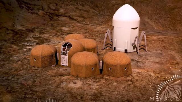 Conheça as cinco casas que a NASA está a considerar construir em Marte