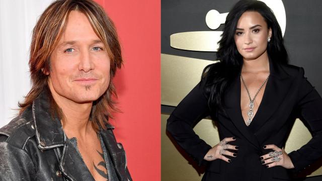 Ex-dependente de álcool, Keith Urban aconselha Demi Lovato