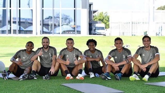 "Cristiano Ronaldo e o ""primeiro treino duro"" na Juventus"