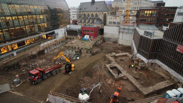 Estrutura descoberta durante obras é a biblioteca mais antiga da Alemanha