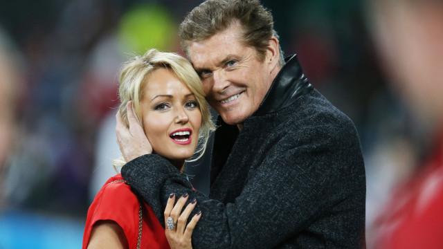 David Hasselhoff e a esposa não pensam ter filhos juntos