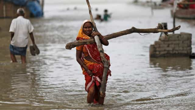 Chuvas na Índia já causaram 150 mortos