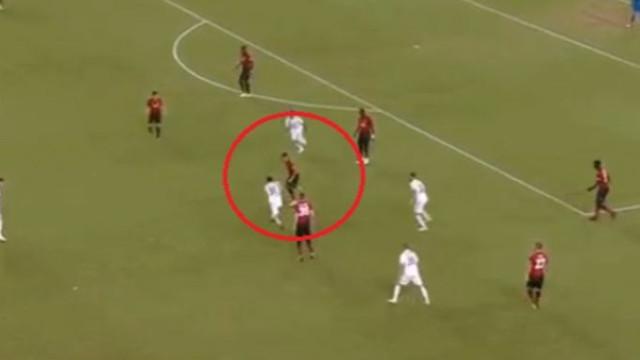 O pormenor de Andreas Pereira que fez as delícias dos adeptos do United