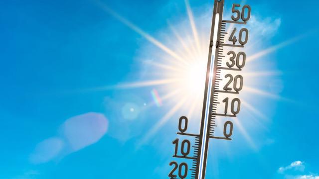 Hoje, temperaturas máximas chegam aos 37ºC e mínimas baixam até aos 10ºC