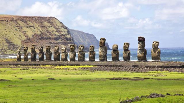 Chile limitou acesso turístico à Ilha da Páscoa para proteger ambiente