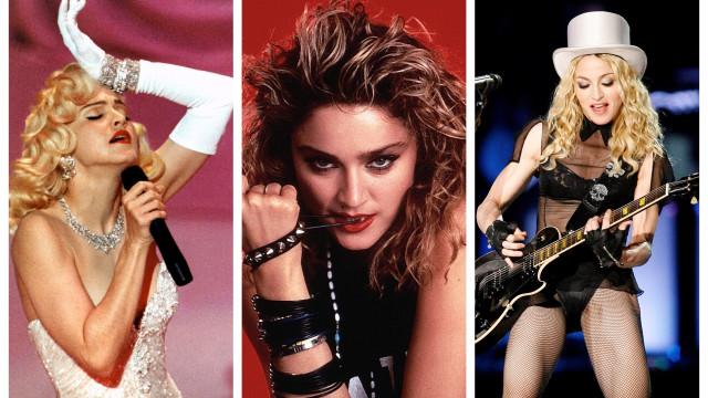 Parabéns, Madonna! A rainha da pop faz hoje 60 anos