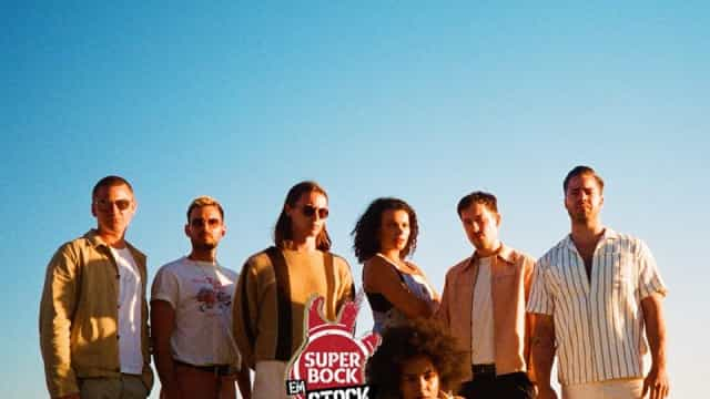 Jungle com data marcada para subir ao palco do Super Bock Super Bock
