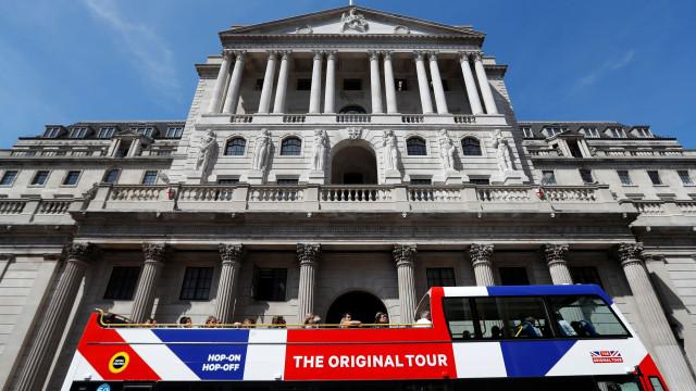 Desde 2009 que o Banco de Inglaterra não subia tanto os juros