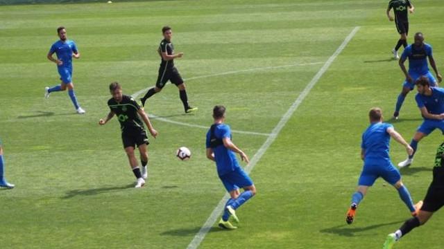 Sporting derrotado pelo Estoril em jogo-treino